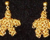 Chainmaille Starfish Earrings