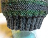 Men's Striped Beanie Hat