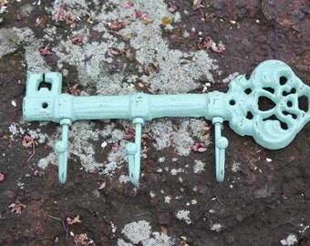 Shabby Chic/Cottage Chic Skeleton Key Rack/Hook