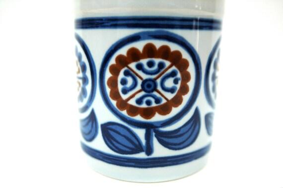 Boho Sunflower Coffee Mug Japan 1970's