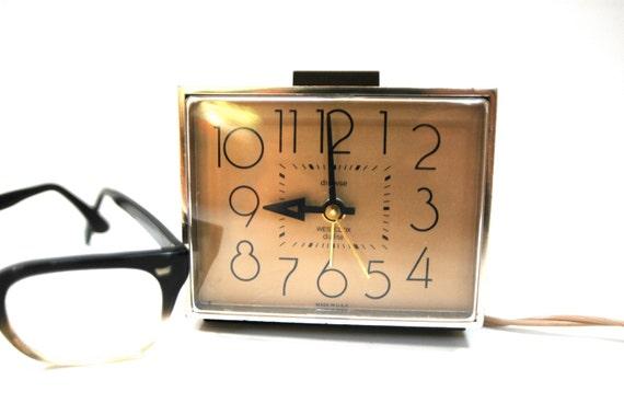 Retro Westclox 1970's Dunmar Alarm Clock