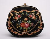 Exquisite Two-side Tapestry Handbag