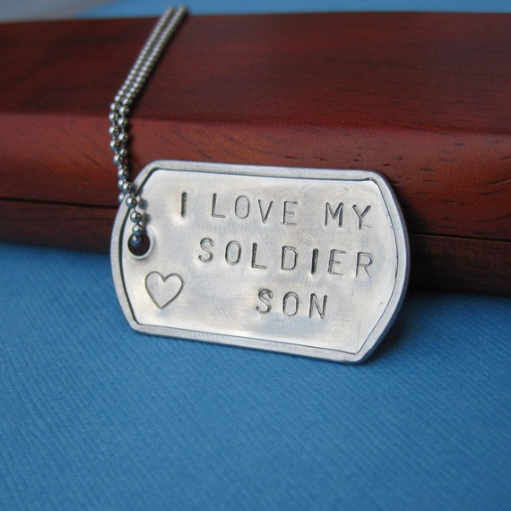 Love Quotes About Life: Items Similar To I Love My Soldier Son Daughter Husband