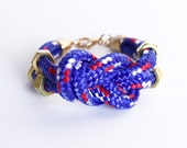 To the sea - Knotted Bracelet made of Sailor rope