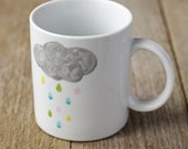 Rainy cloud mug
