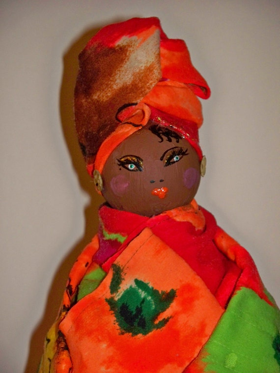 African doll bank
