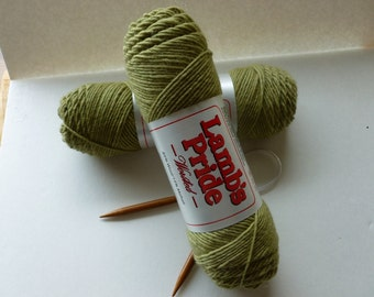 Yarn Sale  - Pistachio Lamb's Pride Worsted by Brown Sheep Company