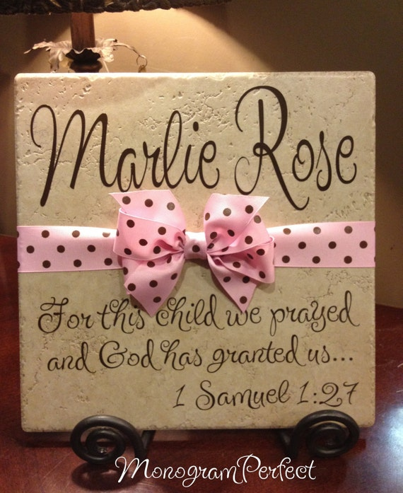 Baby Gift Ideas With Name : Personalized adoption gift or baby shower vinyl art decorative