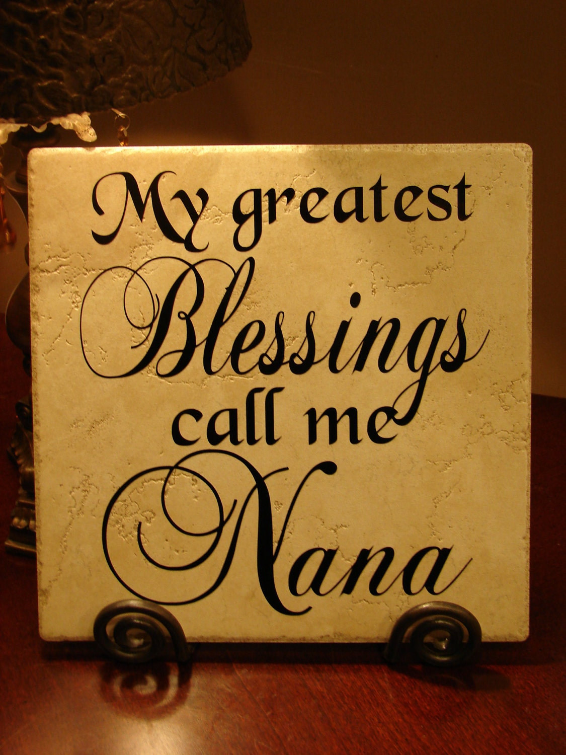 Nana Quotes: My Greatest Blessings Call Me Nana Decorative By