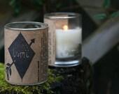 Vanilla-Wood : Soy Wax Candle