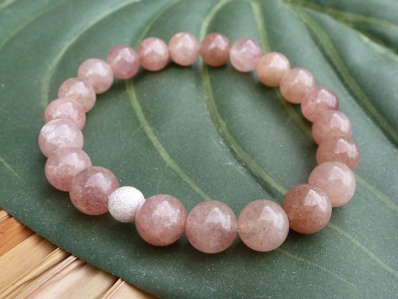 Pink Muscovite for Angelic Contact - Reiki Charged Bracelet