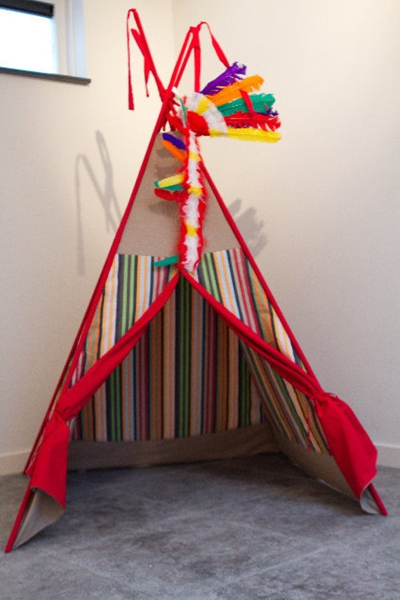 RESERVED FOR LASHA - Children's play tent - teepee / tipi