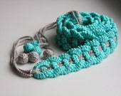Crochet PATTERN for beautiful crocheted summer BELT.