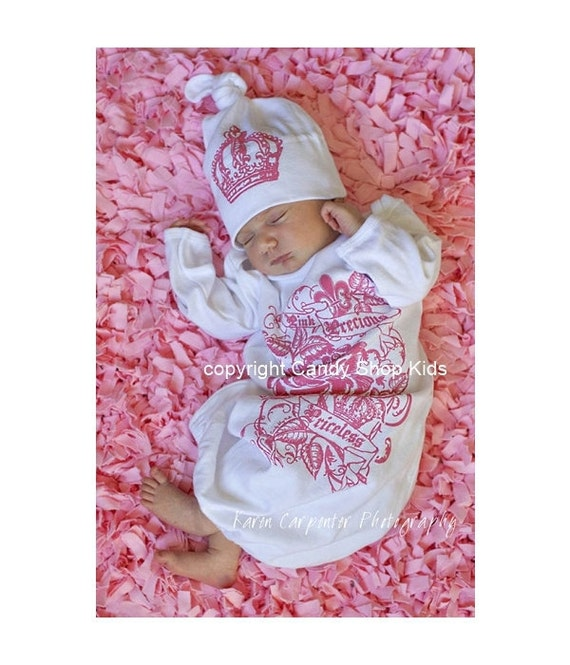 "Coming Home From The Hospital Outfit For Girls -"" Pink, Precious,Priceless"" by Candy Shop Kids"