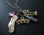 California Charm Necklace - Hollywood