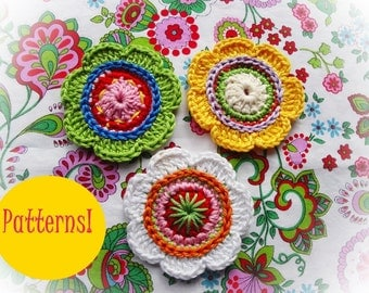 Sophie  Flowers Crochet Patterns