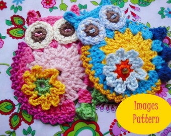 Estelle Owl Crochet Pattern