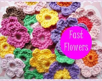 Easy Crochet Flowers ll Patterns