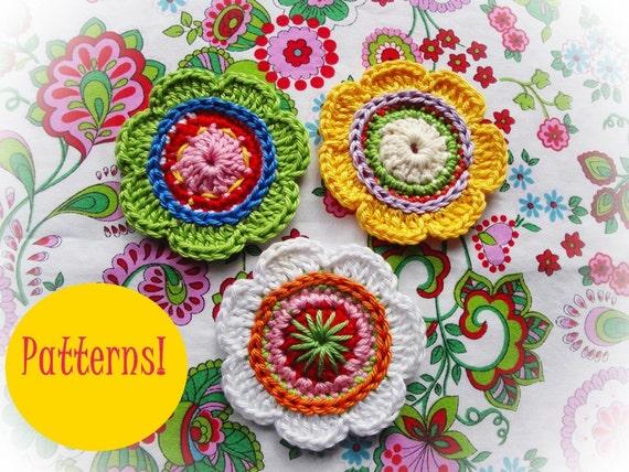 Sophie  Flowers Crochet Patterns