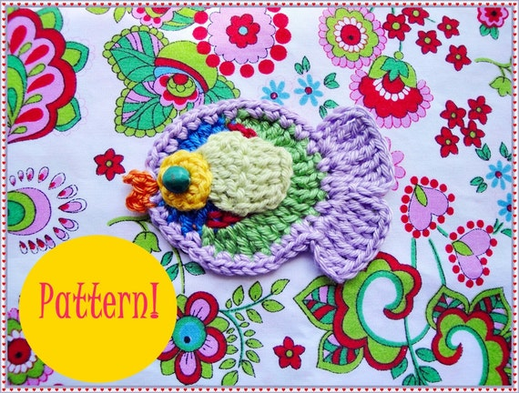 Pierre Fish Crochet Pattern
