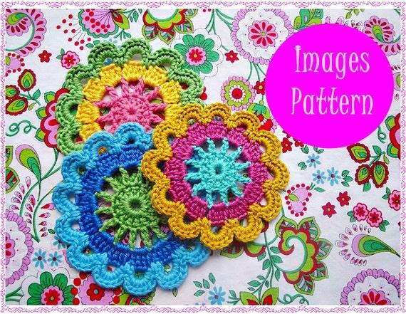 Cute Flowers Crochet Pattern