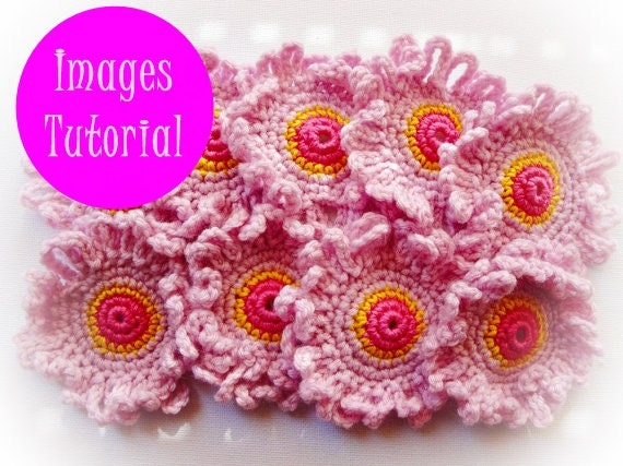 Michaella Flower Crochet Pattern by wonderfulhands on Etsy