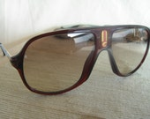 VINTAGE rare CARRERA aviator burgundy flastic frame  1970-80s man Sunglasses 5547 Sonnenbrille Occhiali Sole free shipping
