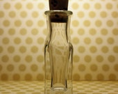 20 glass bottles vials apothecary WITH corks