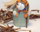 "Hand crafted lavender souvenir-toy ""Grandma"""