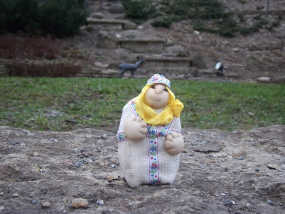 """OOAK,Hand crafted  souvenir-toy """"Grandma"""",gift for her,gift for mom,gift under 25"""