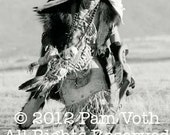 Custom listing: Bear Dancer, 20 x 30 sepia photograph, no border