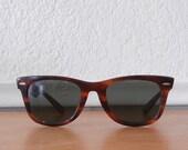 1950's Ray-Ban Wayfarers, Original Tortoise Shell Sunglasses, 5022 Swaybacks
