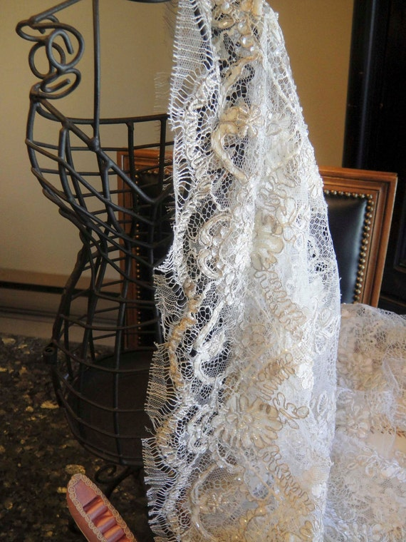 Bridal vintage lace-reserved