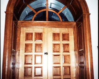 Entry Doors 6'x8' opening