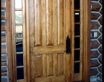 Entry Door 4'x8' opening
