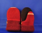 Handmade MUM's (mainly upcycled materials),Mittens, From Felted Wool Sweaters and Polar Fleece