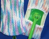 "TWO ""GREEN"" mop pads  for your Swiffer Sweeper"
