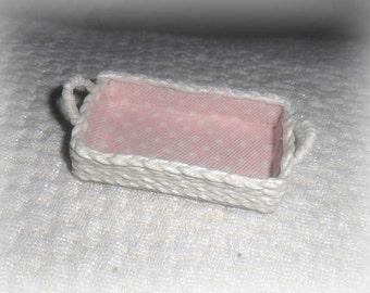 Shopping flax rope ,miniature,dollhouses