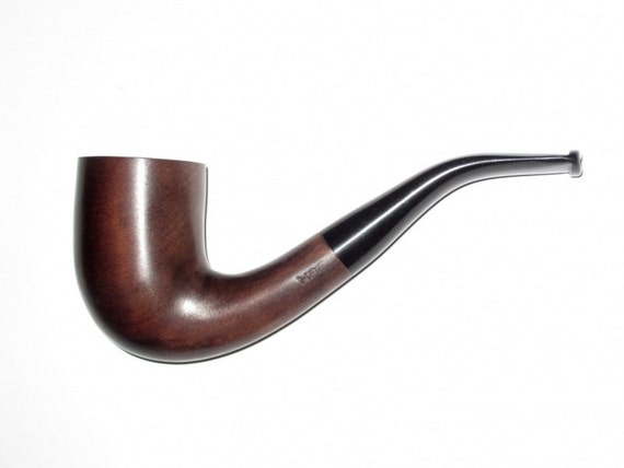 Wooden Pipe. Tobacco Smoking Pipe of Pear Root. Carving Handmade. Exclusive Smoking Pipes