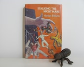 J. Mackenzie Cover Art 1982 Vintage Science Fiction Book Stalking The Nightmare by Harlan Ellison