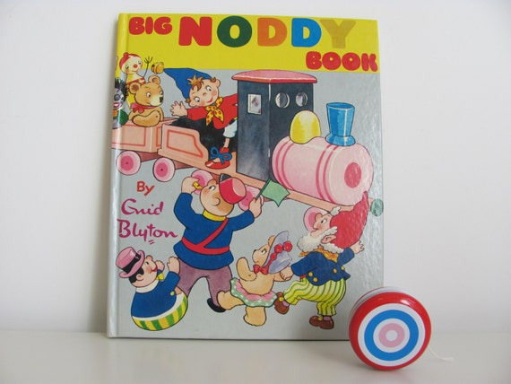 British Childrens Book Big Noddy Book By Enid Blyton