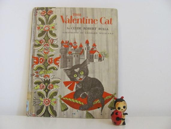 1959 The Valentine Cat Illustrated By Leonard Weisgard