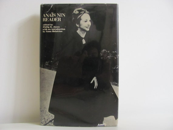 RESERVED //// Vintage 1973 Book Anais Nin Reader