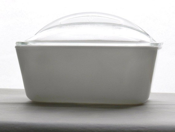 Vintage Refrigerator Dish White Milk Glass by Westinghouse Private Listing for mareicampbell