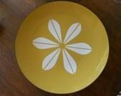 vintage Cathrineholm lotus flower plate platter