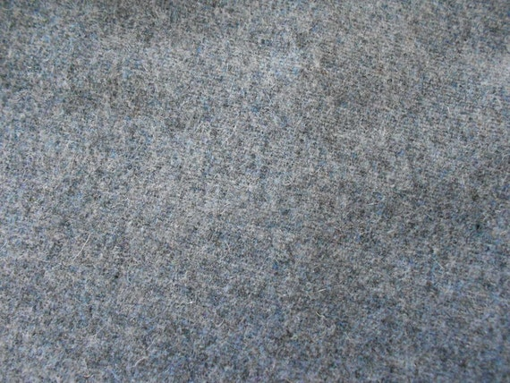 gray wool fabric