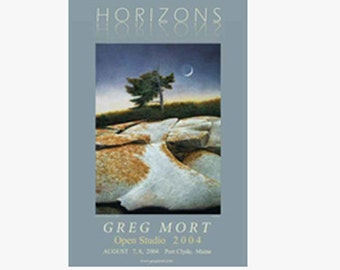 Poster by Greg Mort  HORIZONS Limited Edition Fine art Poster