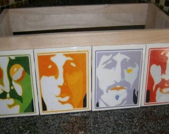 Beatles Coasters (set of 4)