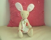 Bunny with Cath Kidston Rosali fabric dress. Can be personalised