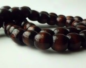 Cherry Wood beads 12mm
